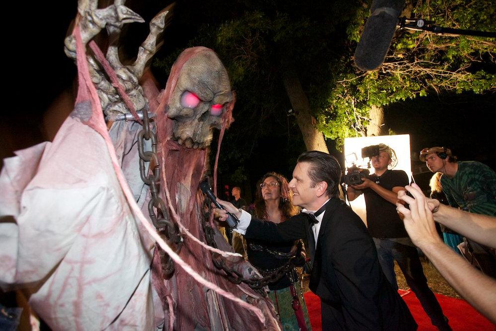 """Shane Nelson ,  Bo Hakala  &  Rich Kronfeld  filming """"Red Carpet"""" Spot"""