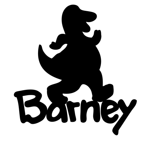 Barney Cake Toppers Barney Cake Topper