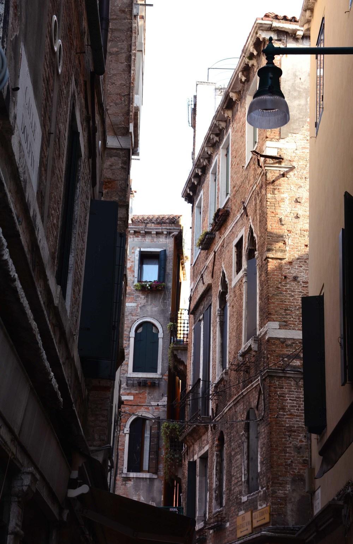 Charming alleyways.