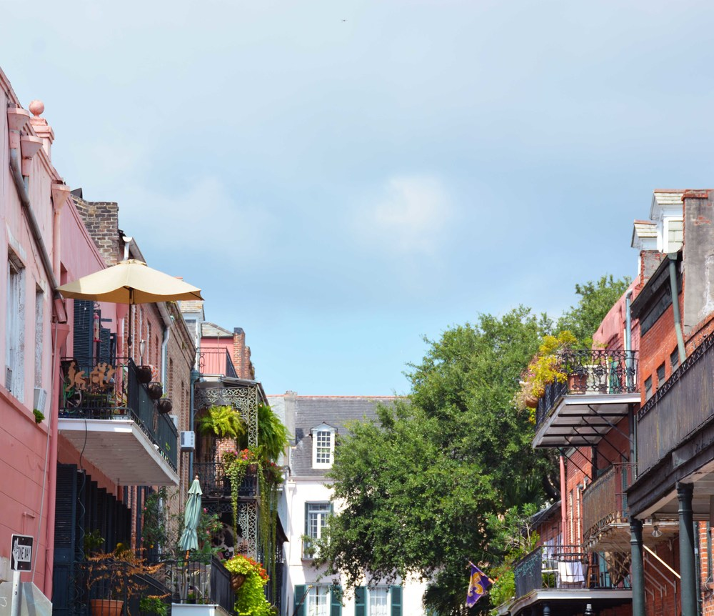 The French Quarter was a feast for the eyes.