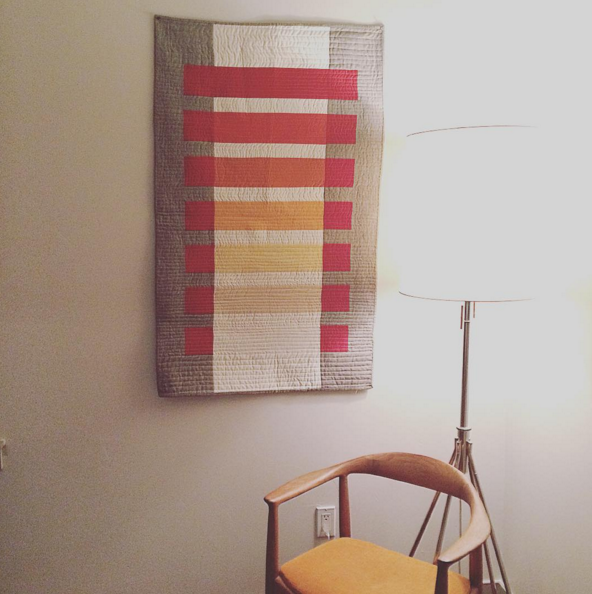 Modern Transparency Quilt Inspired by Josef Albers