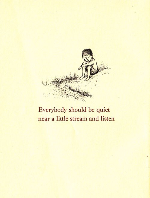 via: Brain Pickings, Illustration by Maurice Sendak from Open House for Butterflies by Ruth Krauss