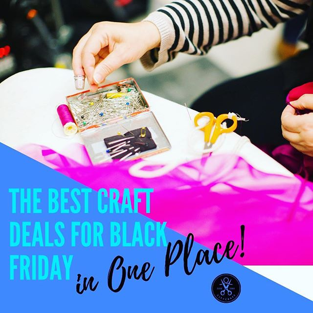 We're rounding up all the best #blackfriday crafting deals in one place! Head over to CityCraft and bookmark the post. We are updating it as each deal goes live, so don't forget to check back often! Xoxo link in bio