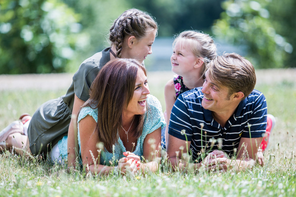 The Overton's - This fun family shoot took place in the heart of Berkshire on a beautiful summer day.