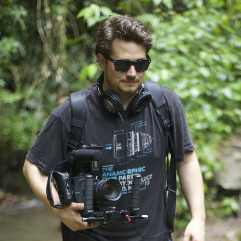 On location in Colombia 2014. Photo: Tom Shannon