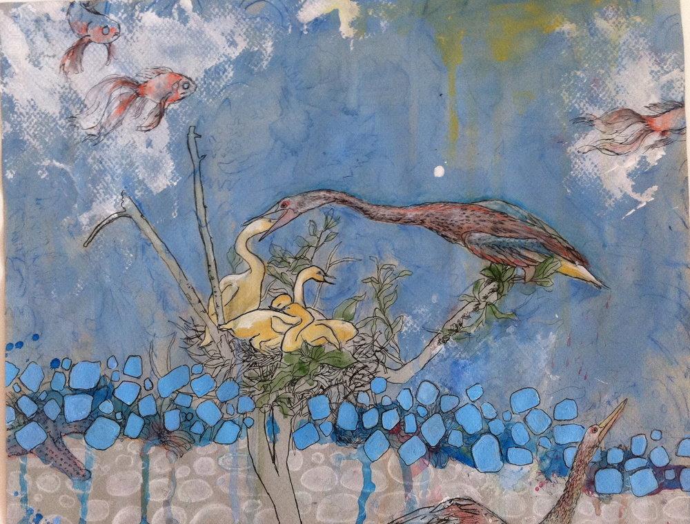 Habitat Reconstruction (AMNH) #4/Nurter