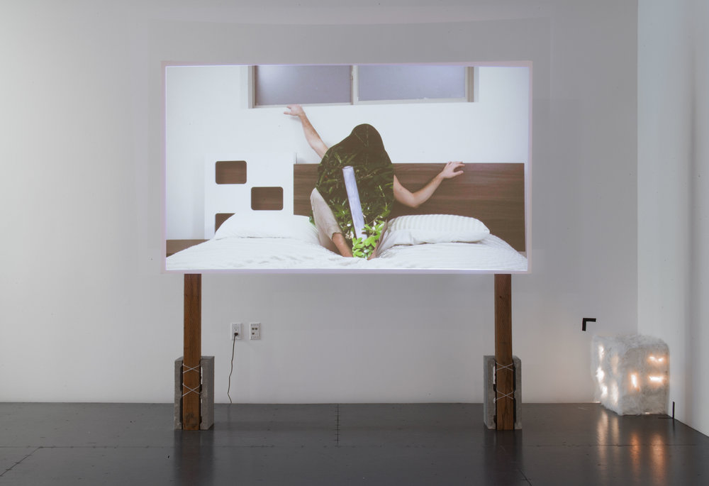 "install view of ""caché"", gallery 4culture, photo by Max Cleary"