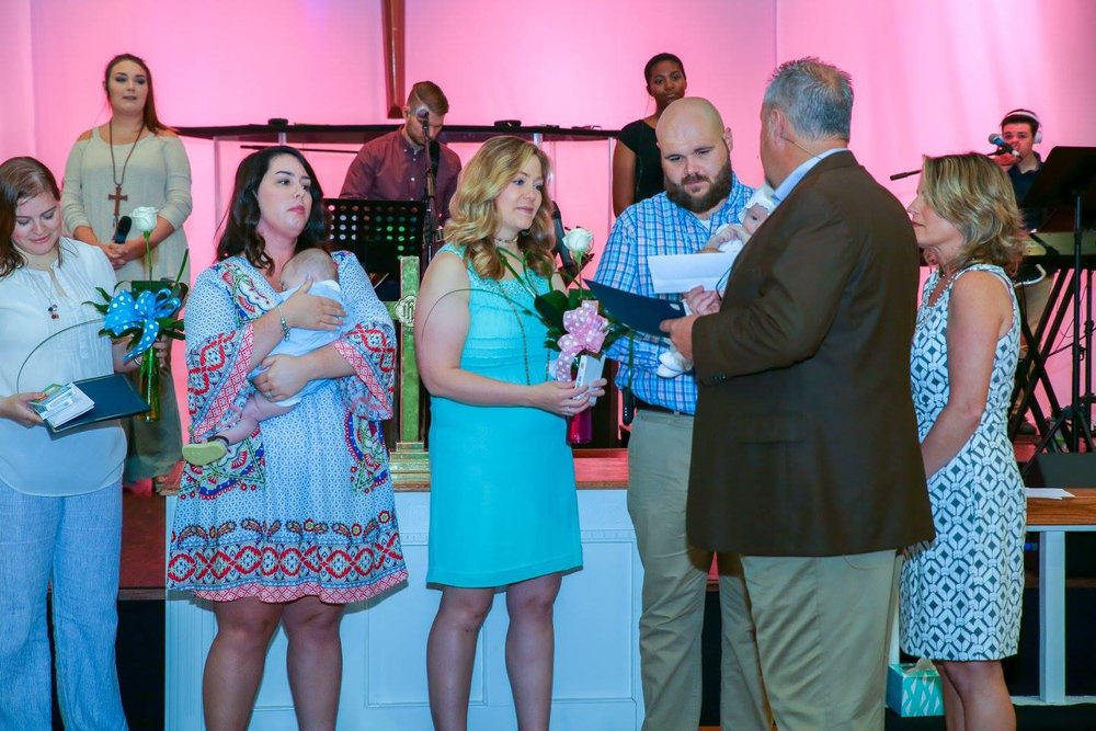Davis and Whitfield Baby Dedication - May 14, 2017