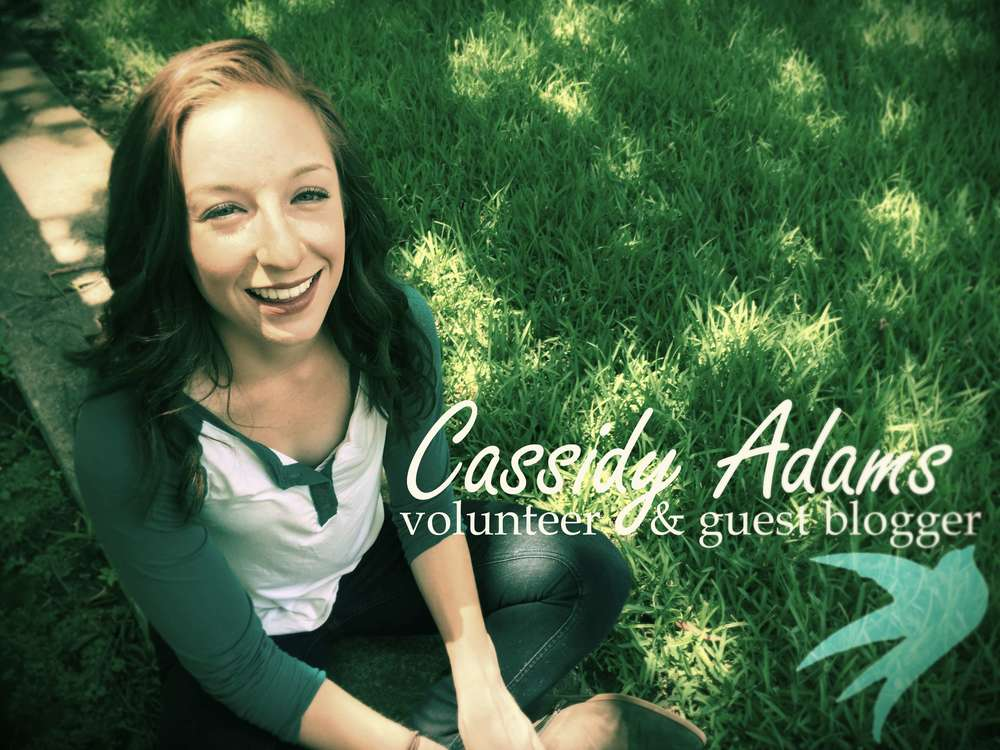 IFM Denton volunteer Cassidy Adams shares her thoughts on why people volunteer.