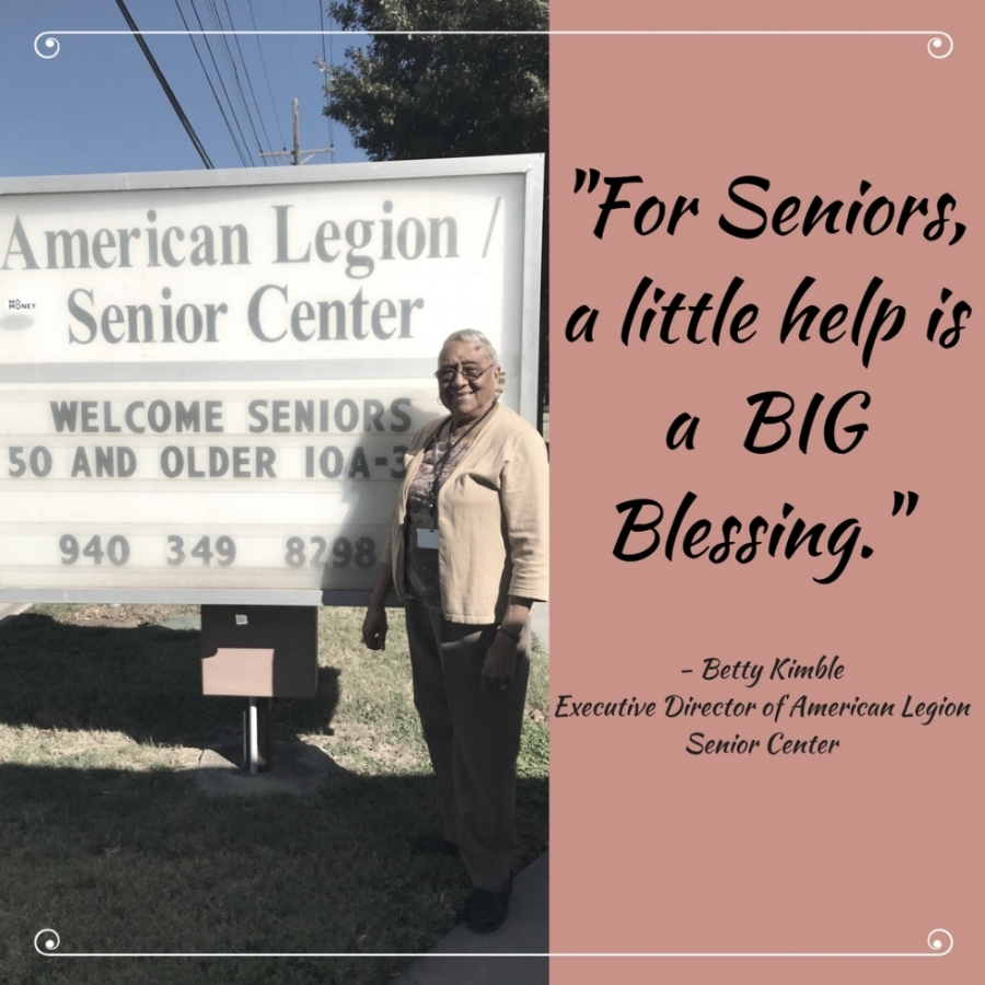 American Legion Senior Center -  Santa Loves Senior 2017,Because of your help, IFM collected over 40 bags filled with everything requested for our Santa Loves Senior program!Thank you to everyone who donated!-Ernestina Lopez