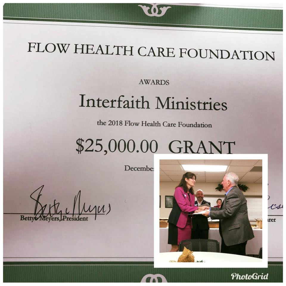 Thank you Flow Grant!