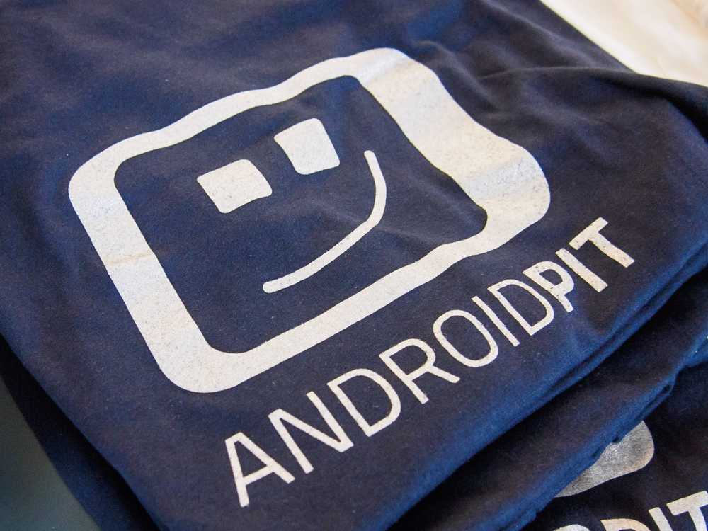 ANDROIDPIT Birthday shirts