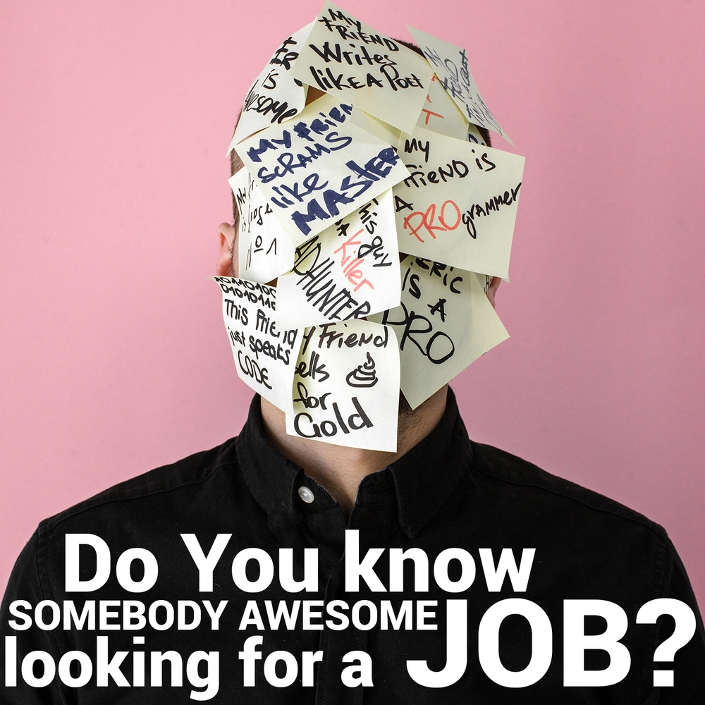 This could be you - apply now!