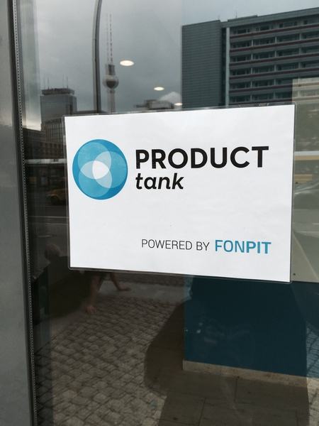 Welcome @ Fonpit - we were super happy to be hosting this event