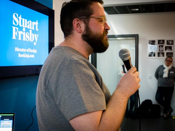 Stuart Frisby,Principal Designer @ booking.com