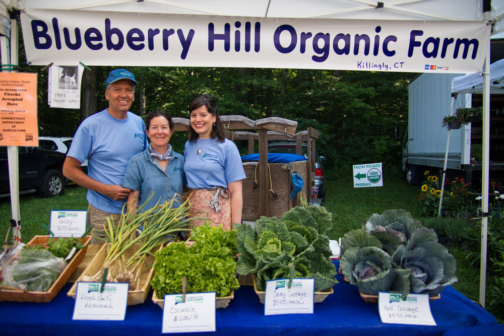 Find us at the Putnam Farmer's Market - Thursdays, 3:30-6:00 p.m.