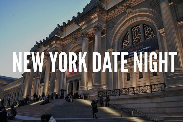 "🎉 It's Friday! 🎉  Which means it's DATE NIGHT people! 💑 (Quick tip: Weekends should be reserved for date nights only. None of this ""hanging out"" mumbo jumbo.) 🙅🏽❌🚫 We're loving our New York City🗽 trip and we just can't stop with our date night ideas!  If you're afraid of heights and just can't get on a Ferris Wheel we feel ya. Then head over to The Metropolitan Museum of Art aka ""The Met"". Cost: Whatever amount you think is appropriate. Suggested amount is $25 but if you only have a $1 they'll take it."