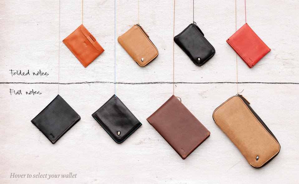 sfxn-co-op: Bellroy has produced some fine crafted leather wallets for the gentlemen of today. Take a look at the sharp range and head into Co-Op to view the collection. http://www.dailycarry.co