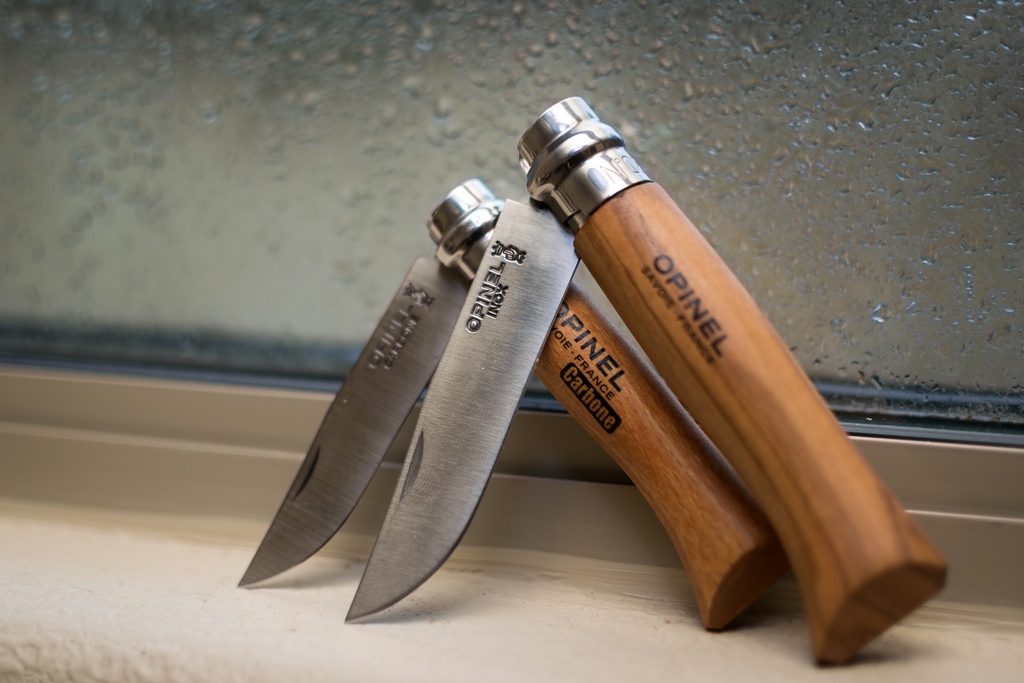 everyday-cutlery :     Opinel Knives by Chris Coscia