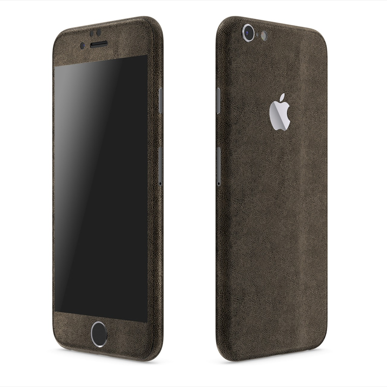 Love the look: Brown Leather Series Slickwrap for iPhone 6 and 6 plus