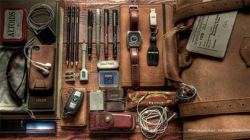 superstarfighter: What's in your bag? 223/365 (by EspressoTime)