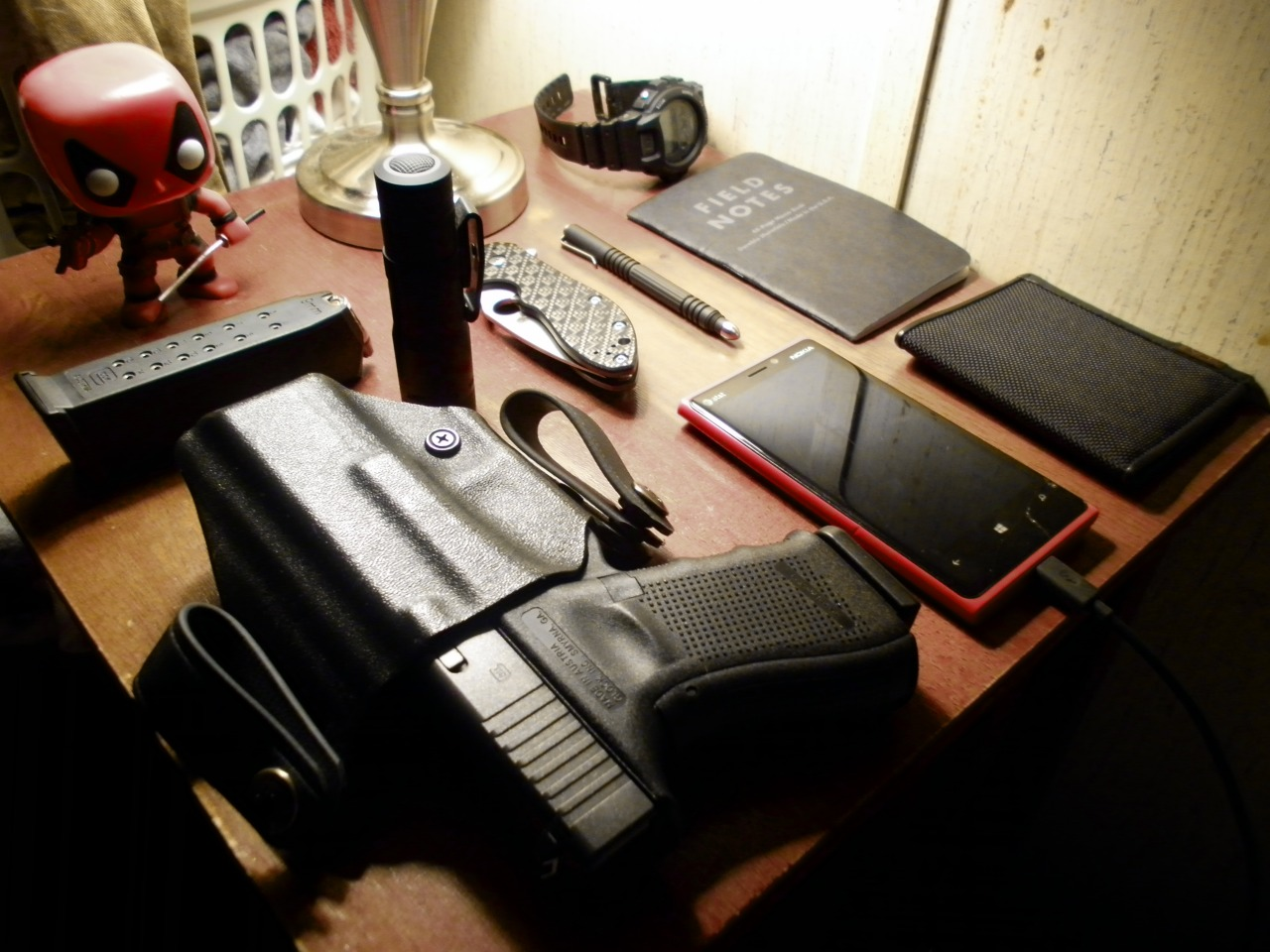 codenamedeadpool: The nightstand.