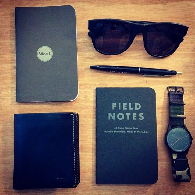 bellroy :     Neat pic from the guys at @redundantshop, thanks for sharing 👌 #bellroy #notesleeve