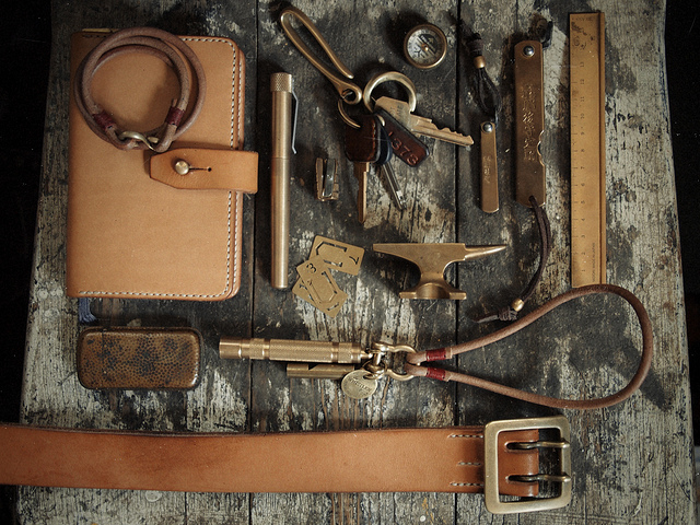 artifactish: Brass by Hollows Leather on Flickr. amazing