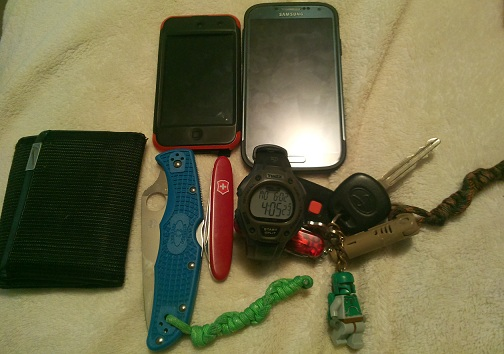 Thank you operatingwithnugget for submitting: EDC: College Student Edition Spyderco Endura 4 Victorinox Pocket Pal Timex Ironman Traditional Submit Yours