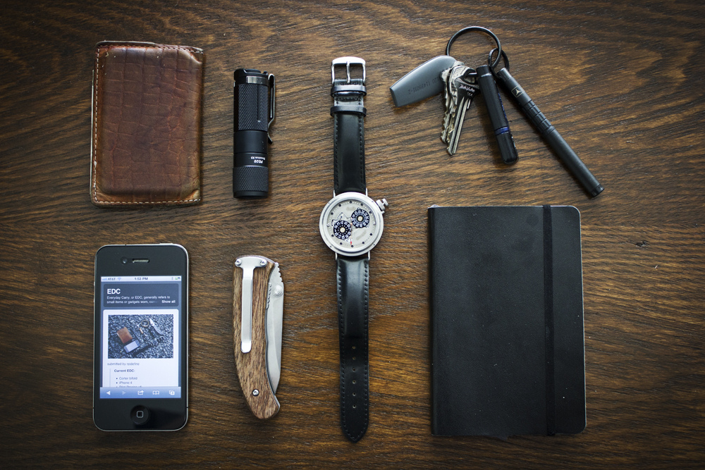 everyday-cutlery: EDC by ctzn http://www.dailycarry.co