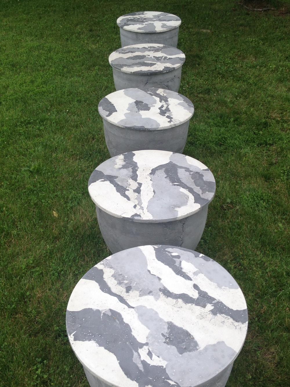 Inhabit Concrete Design - Catalyst (5)  24 dia.x 18  GFRC Drum Tables.jpg