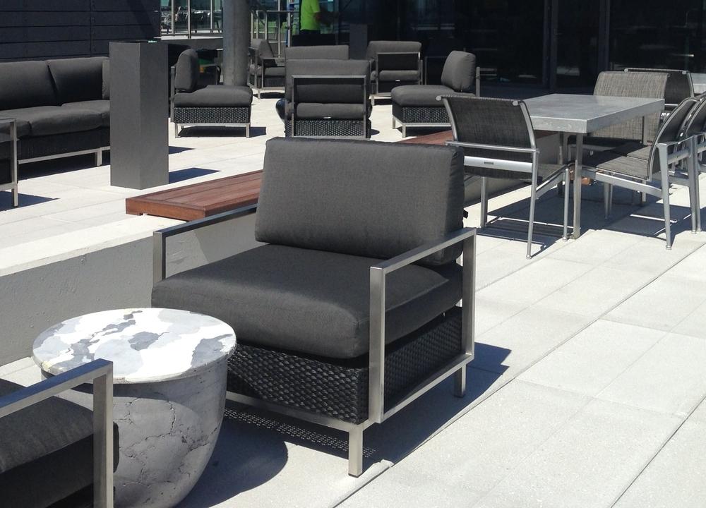 Inhabit Concrete Design - Catalyst GFRC Drum Table 3-5 on site.JPG