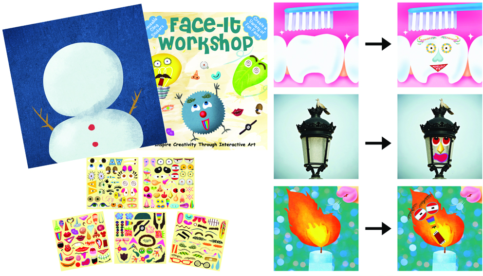 Face-It Workshop Sticker Book