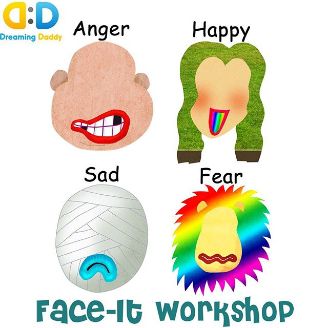 #teach your child about #emotions  Emotional competence is the key to strong #preschool #socialskills  #creative #learningisfun #learnthroughplay #learningthroughplay #dreamingdaddy #creativity #funforkids #funnyfaces #stickerbook #app #playwithphoto #art #imagination #character #mommyandme