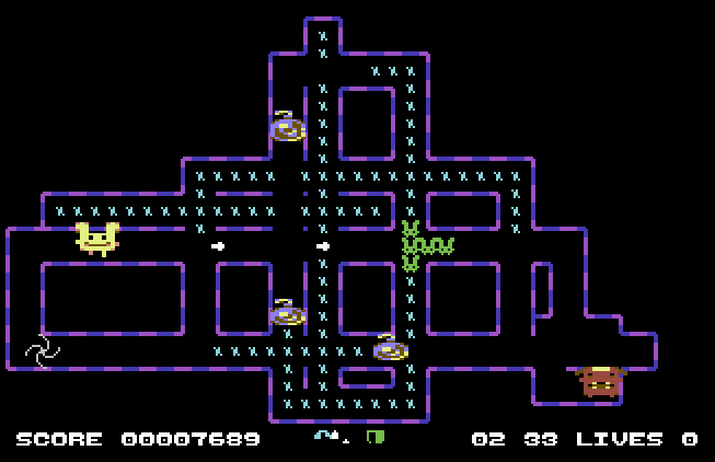 Get 'Em DX and other new local multiplayer games for C64, Milo Mundt (RETURN Magazine)