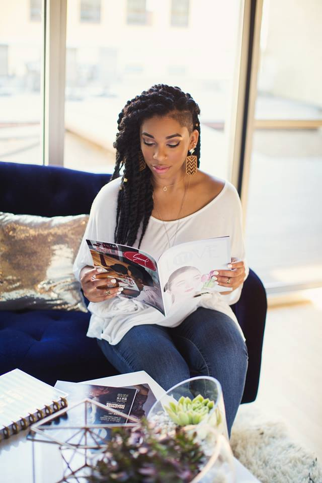 Kana Brown Love IT! EVV Magazine Alisha Sims Magazine
