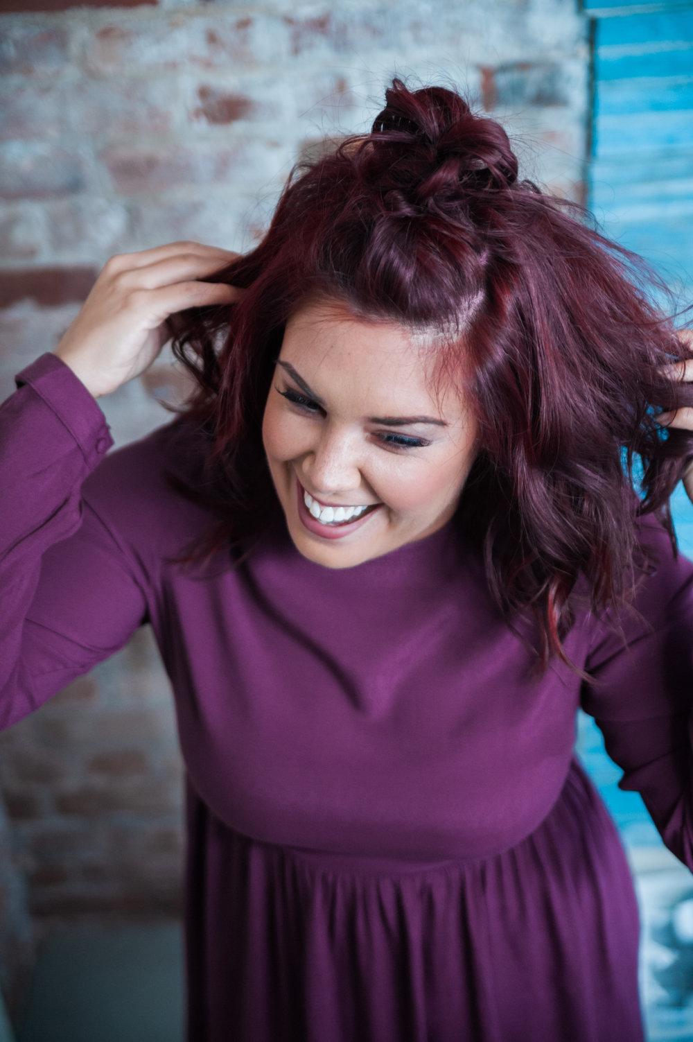 Hair With Hanna Johnna Nedreberg Photography for Love IT! Evv Magazine