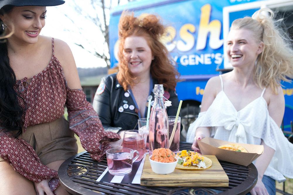 Gene's Fresh Food Truck Shot by Megan Vinson Photography for Love IT! EVV Magazine