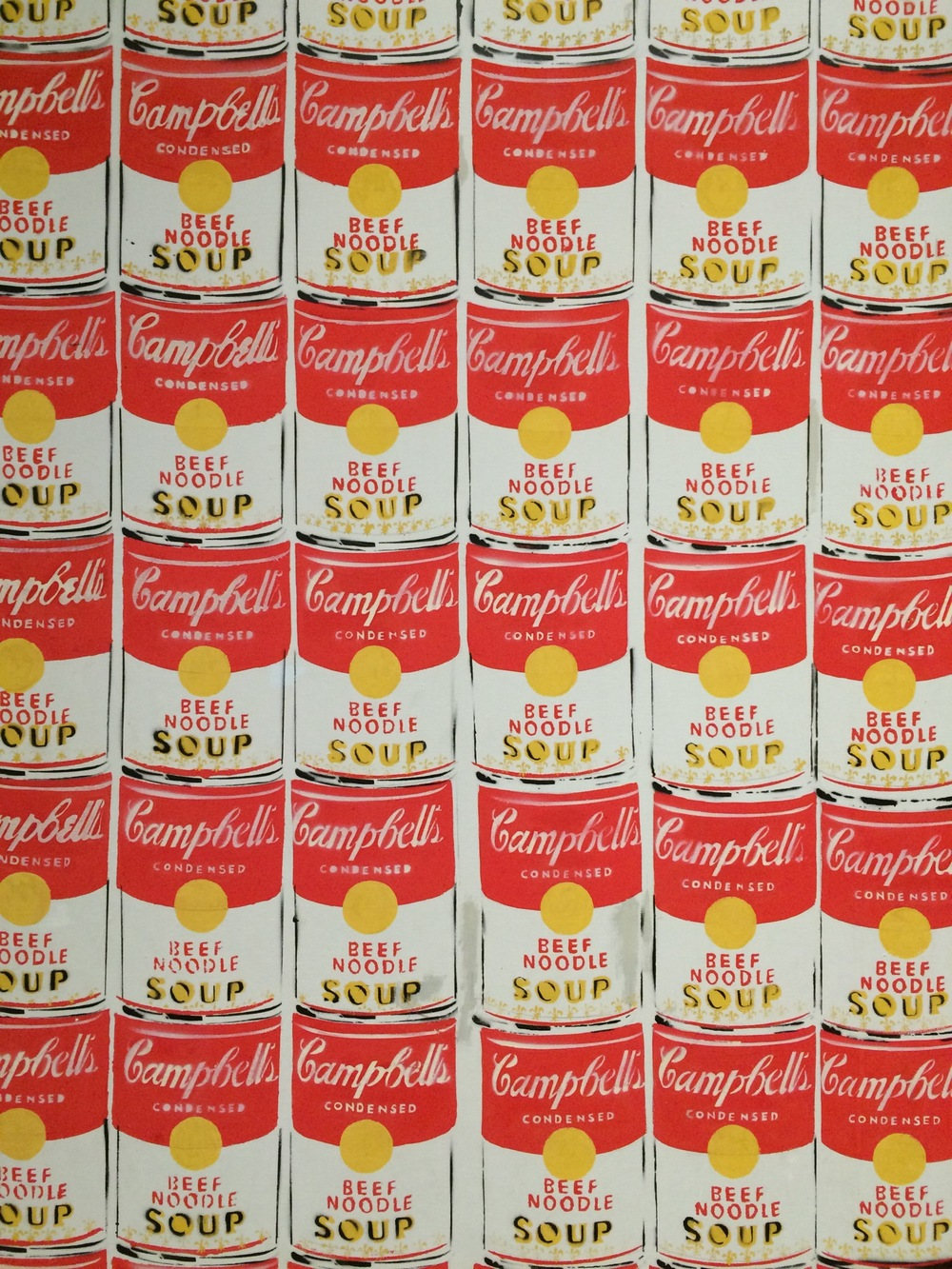 """100 Cans"" by Andy Warhol"
