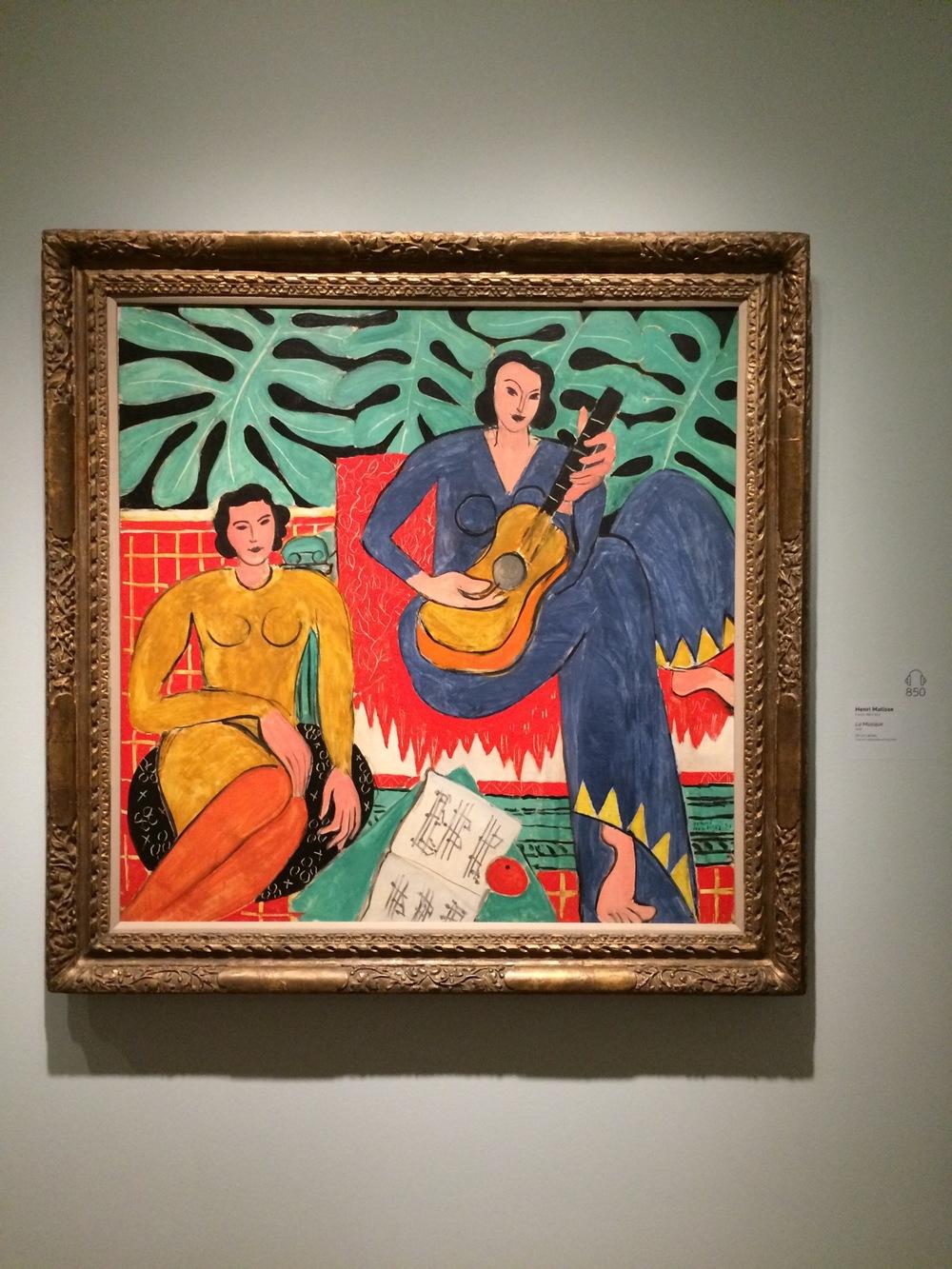 """""""La Musique"""" by Henri Matisse"""