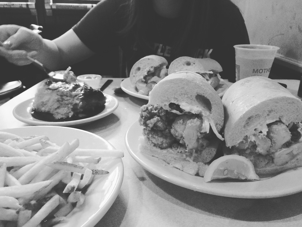 po boys at Mother's in new orleans