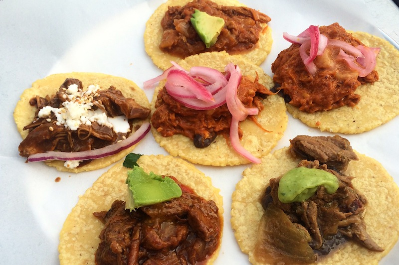 Tacos for days.  Guisados  was recommended to us in Echo Park. It did not disappoint. Beware the spice of the Cochinita Pibil!