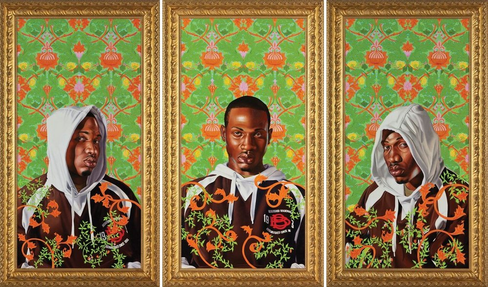 by Kehinde Wiley via arkansasartscenter.com