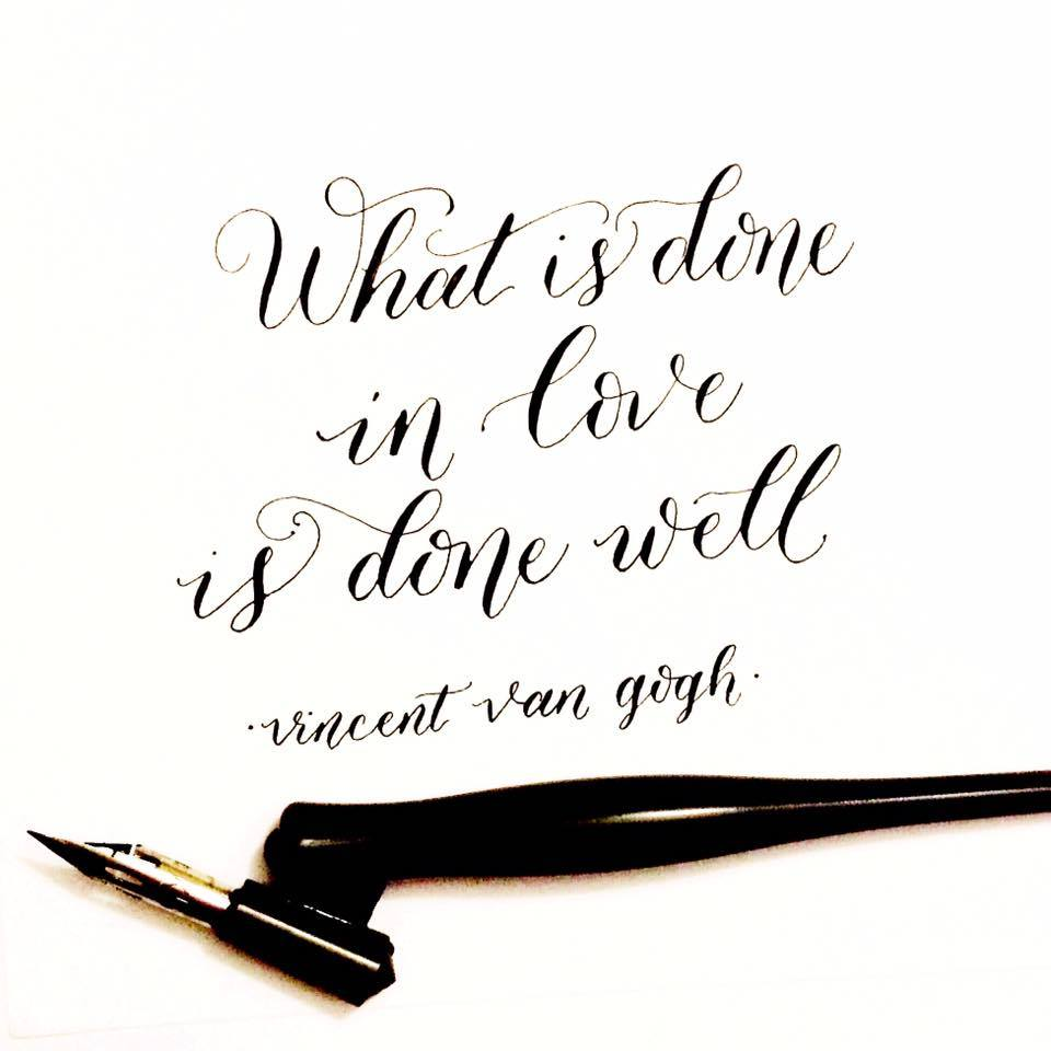 Calligraphy by Sarah Script