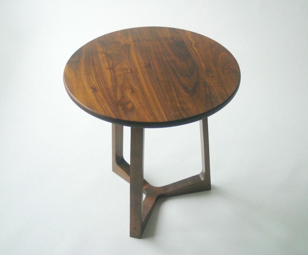 Side Table In Black Walnut