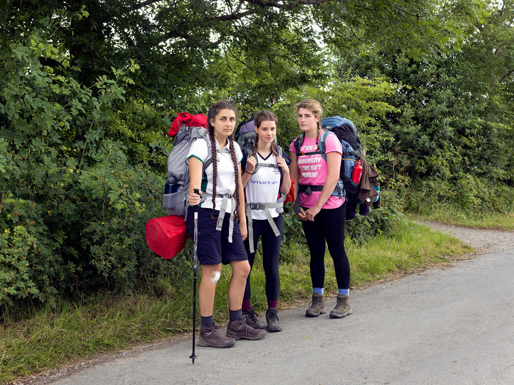 My portrait of three friends doing their Duke of Edinburgh Award in the Lake District will be included in the show