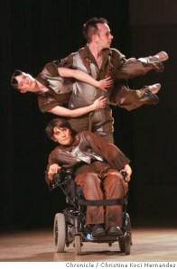 Murderball blog, AXIS Dance Company