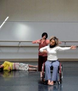 Creating ODD, AXIS Dance Company