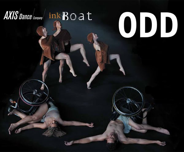 World premiere ODD performed by AXIS Dance company