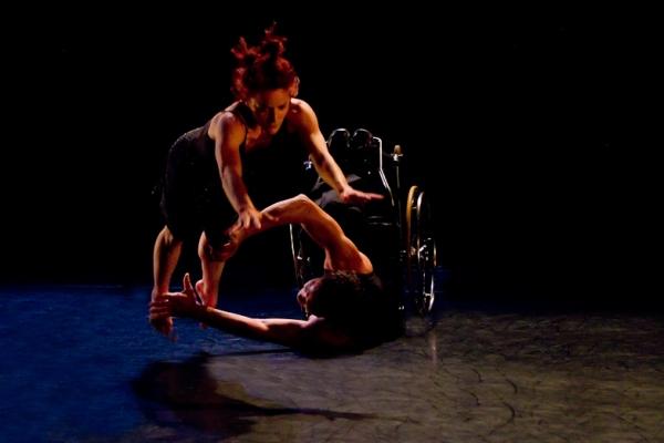 AXIS Dance Company Performance Shot